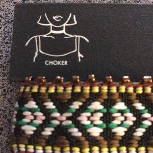 Jewelry - Nwt beaded choker